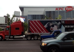 Outside the KFC Yum! (Photo: Sami.)