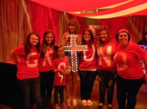Taylor and Team Holy Ground.
